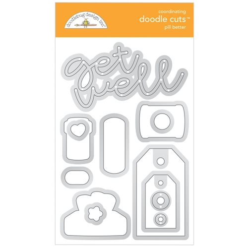Doodlebug PILL BETTER Doodle Cuts Dies 6338 Preview Image