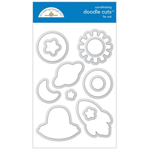 Doodlebug FAR OUT Doodle Cuts Dies 6340 Preview Image