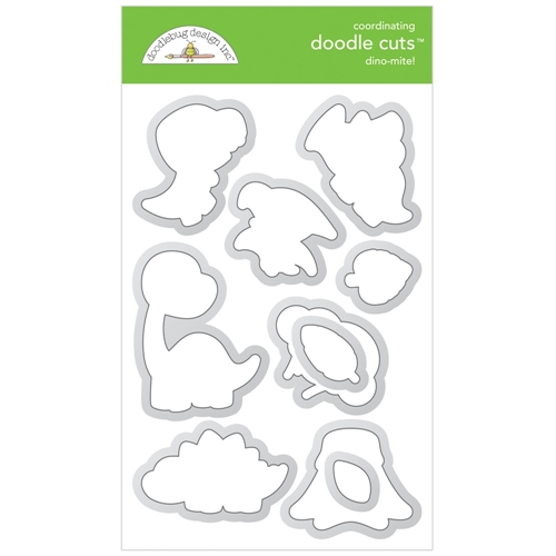 Doodlebug DINO-MITE Doodle Cuts Dies 6342 Preview Image