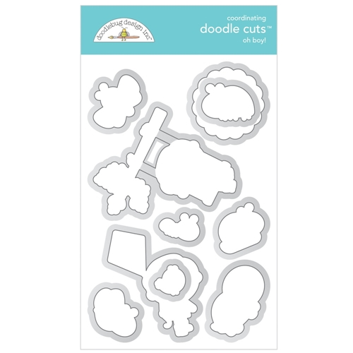 Doodlebug OH BOY! Doodle Cuts Dies 6332 Preview Image