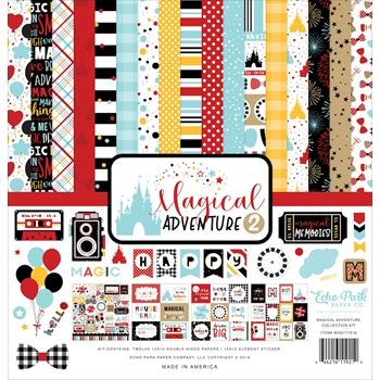 Echo Park MAGICAL ADVENTURE 2 12 x 12 Collection Kit mag177016