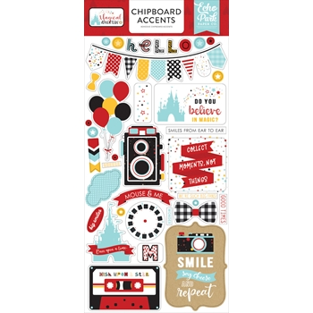 Echo Park MAGICAL ADVENTURE 2 Chipboard Accents mag177021