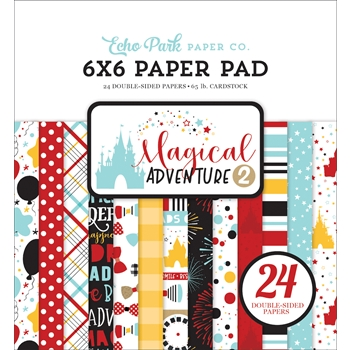 Echo Park MAGICAL ADVENTURE 2 6 x 6 Paper Pad mag177023