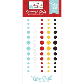 Echo Park MAGICAL ADVENTURE 2 Enamel Dots mag177028