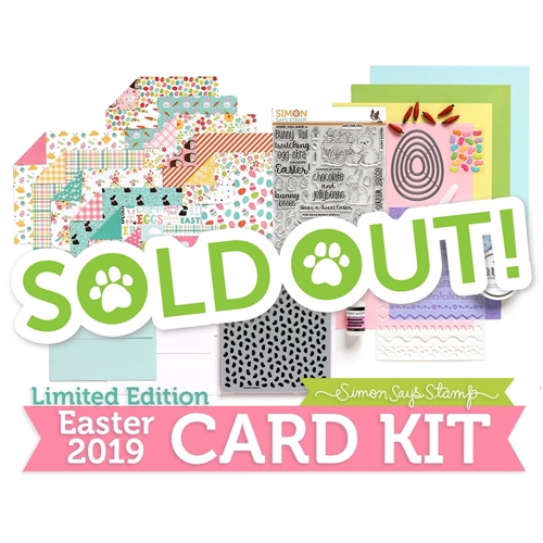 Limited Edition Simon Says Stamp Card Kit EGGSTRA SWEET EASTER 2019 ssseck19 Preview Image