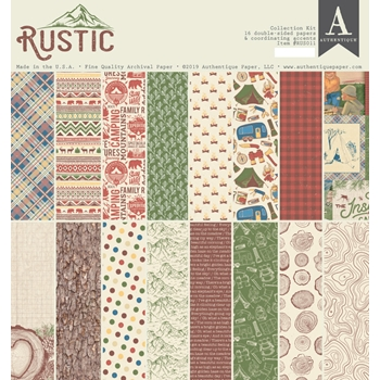 Authentique RUSTIC 12 x 12 Collection Kit rus011*