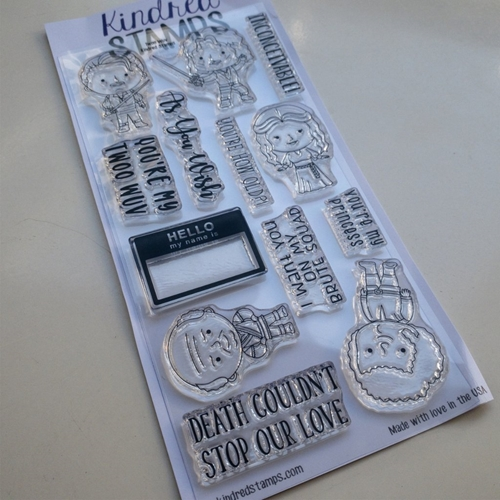 Kindred Stamps TWOO WUV Clear Stamp Set  Preview Image