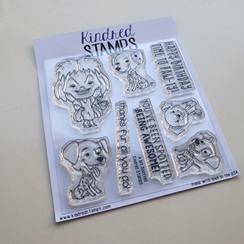 Kindred Stamps A BIT SPOTTED Clear Stamps 17172764