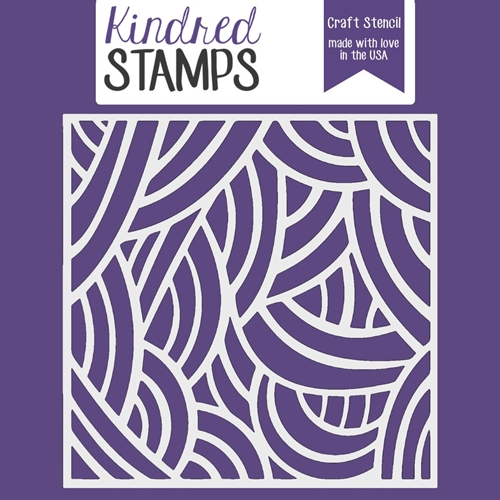 Kindred Stamps LONG HAIR Stencil 23029276 Preview Image