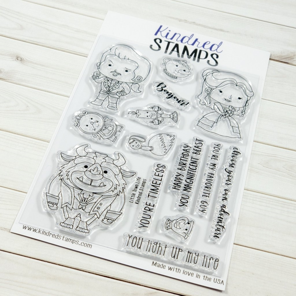 Kindred Stamps LITTLE TOWN LIFE Clear Stamps 1726492 zoom image