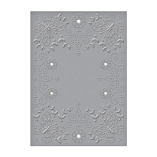 CEF-014 Spellbinders FLORA AND FAUNA Cut and Emboss Folder Preview Image