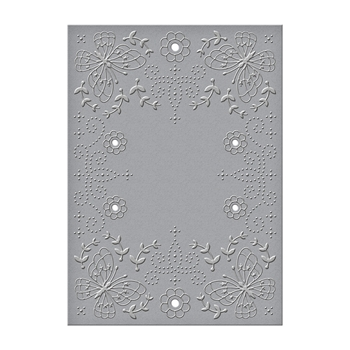 CEF-014 Spellbinders FLORA AND FAUNA Cut and Emboss Folder