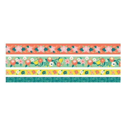 We R Memory Keepers BRIGHT FLORAL Washi Tape 660679 Preview Image