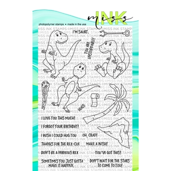 Miss Ink Stamps UNSTOPPABLE Clear Set 319st02