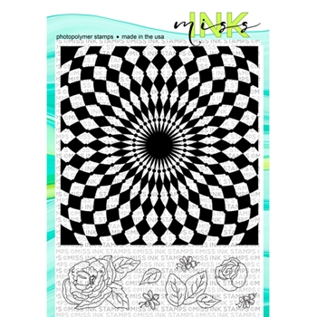Miss Ink Stamps ALICE BACKGROUND Clear Set 319bk01