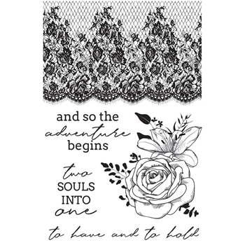 Kaisercraft TWO SOULS Clear Stamps CS350