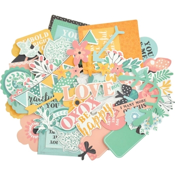 Kaisercraft PAISLEY DAYS Collectables Die Cut Shapes CT959