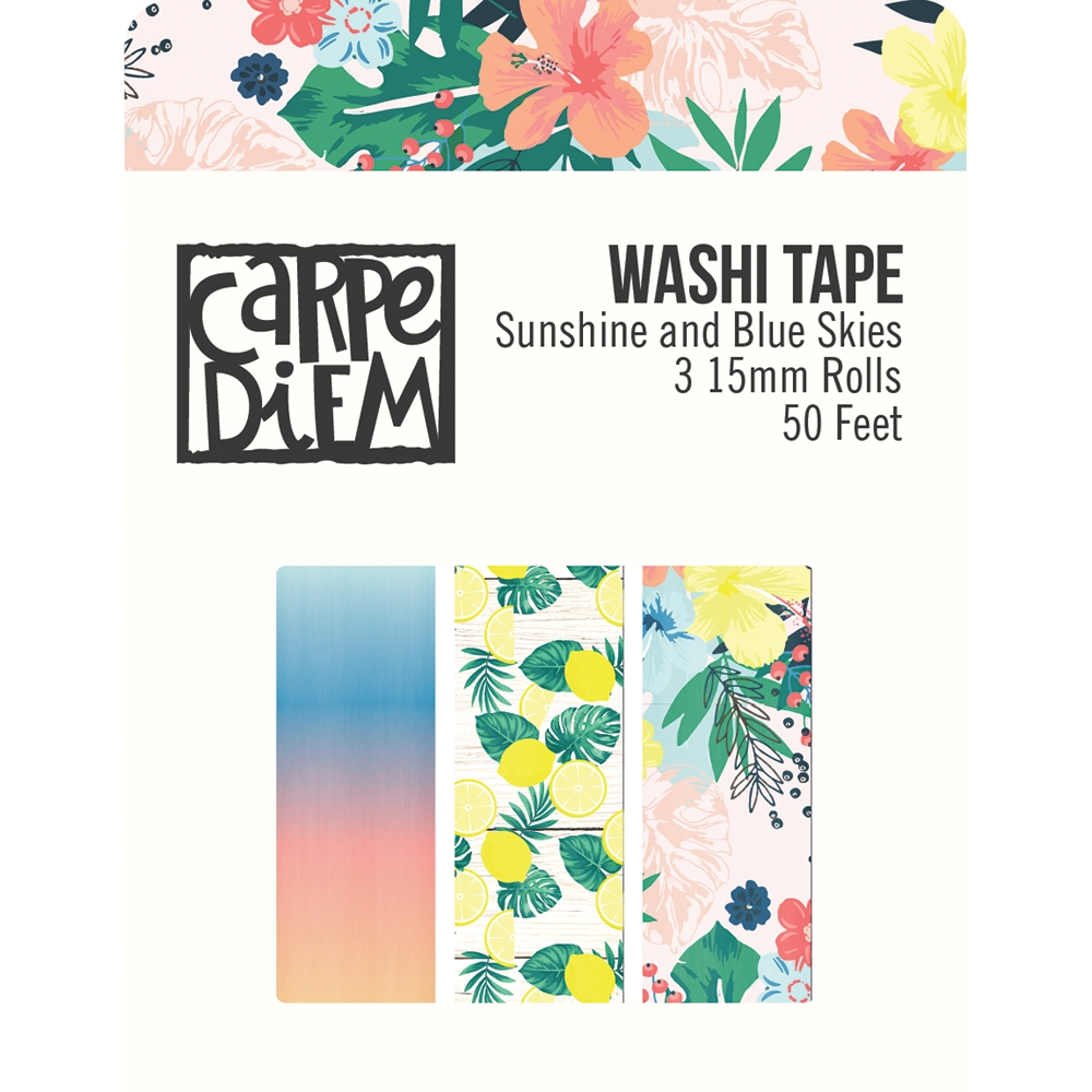 Simple Stories SUNSHINE AND BLUE SKIES Washi Tape 10628 zoom image