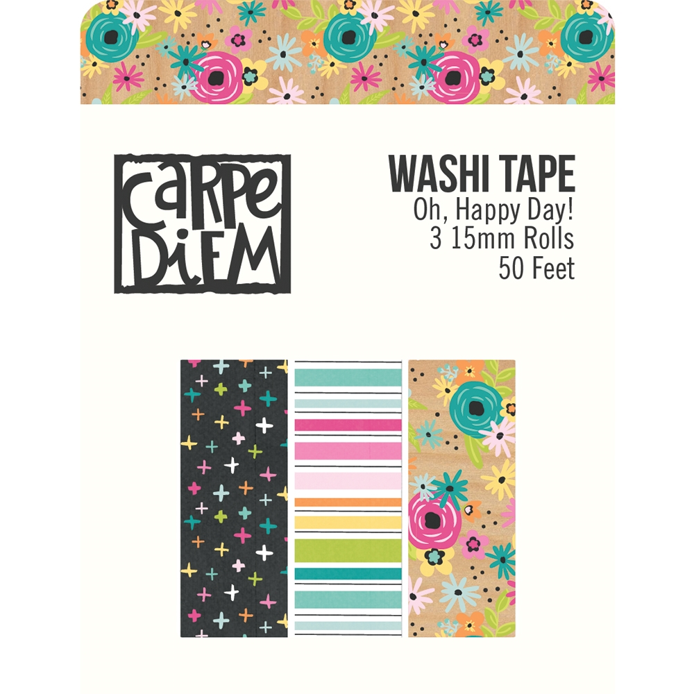 Simple Stories OH HAPPY DAY Washi Tape 10677 zoom image