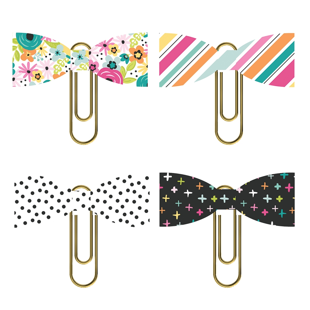 Simple Stories OH HAPPY DAY Bow Clips 10680 zoom image