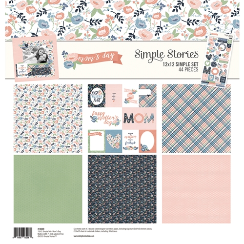 Simple Stories MOM'S DAY 12 x 12 Collection Kit 10689 Preview Image