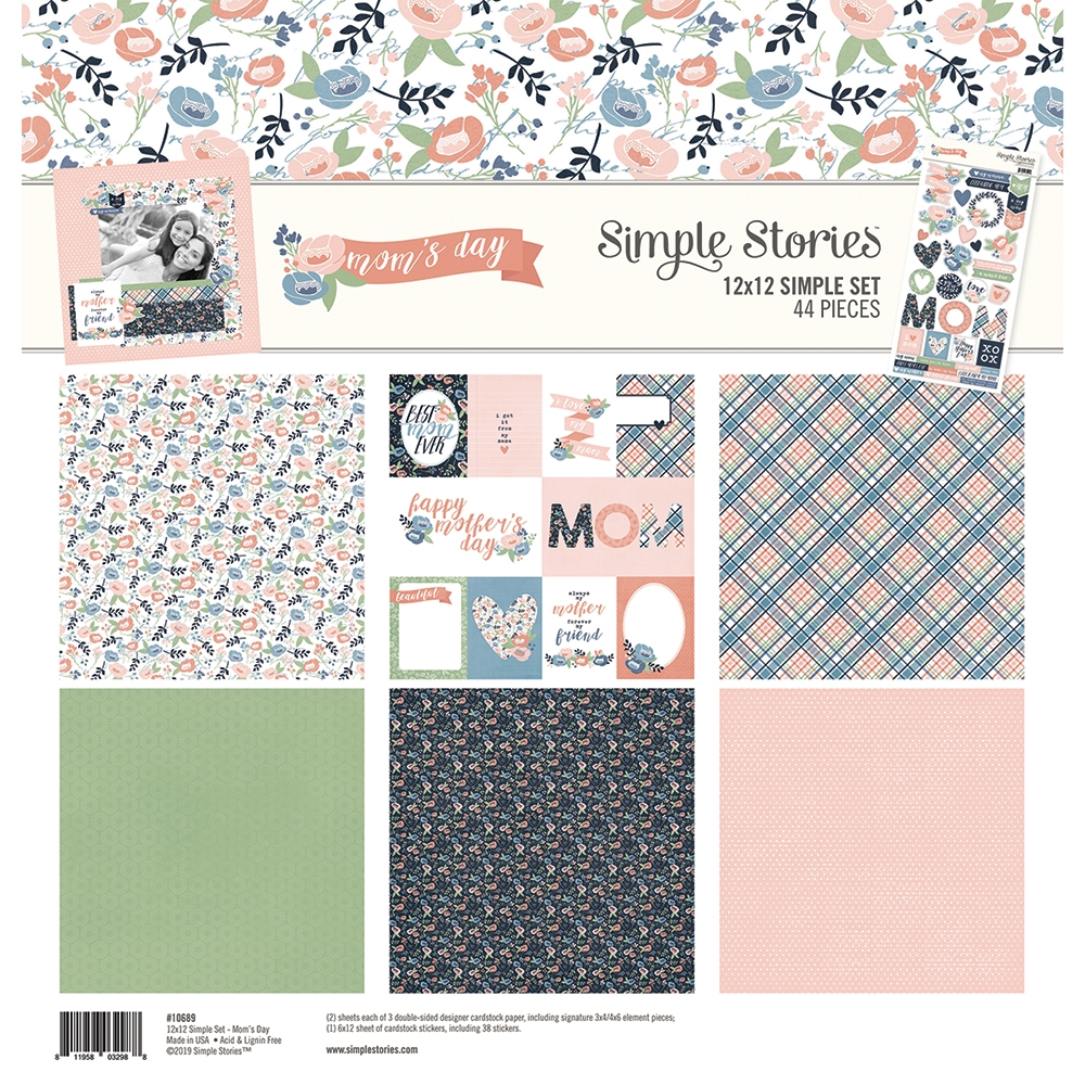 Simple Stories MOM'S DAY 12 x 12 Collection Kit 10689 zoom image