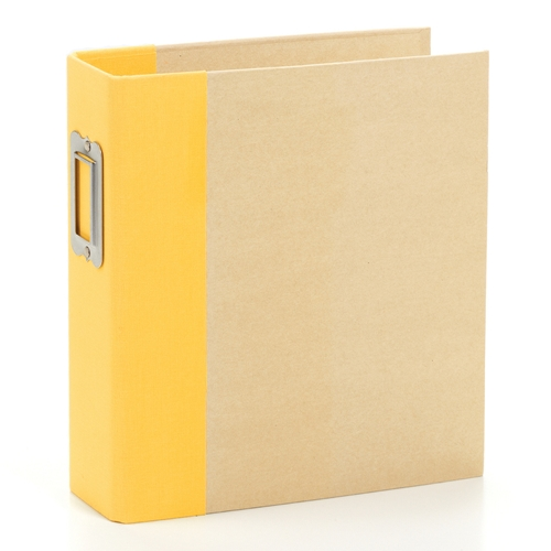 Simple Stories YELLOW 6 x 8 Snap Binder 10736 Preview Image