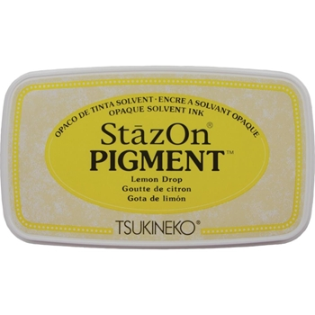 Tsukineko Stazon LEMON DROP Pigment Ink Pad szpig091*