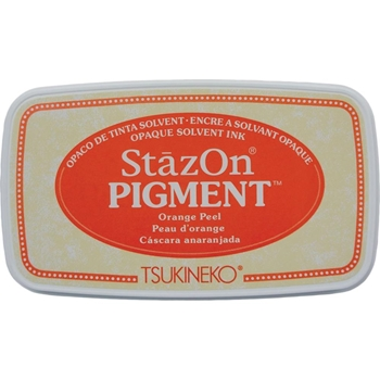 Tsukineko Stazon ORANGE PEEL Pigment Ink Pad szpig071*