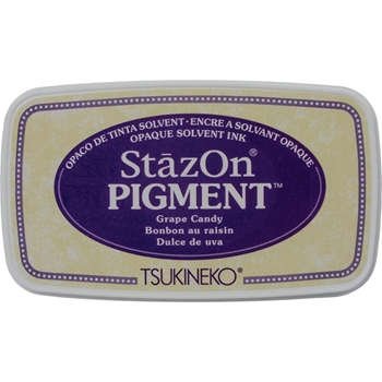 Tsukineko Stazon GRAPE CANDY Pigment Ink Pad szpig011*