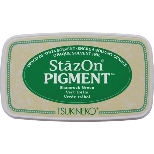 Tsukineko Stazon SHAMROCK GREEN Pigment Ink Pad szpig051* Preview Image