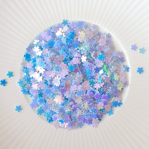 Little Things From Lucy's Cards Sprinkles BITTY BLUE BLOSSOM LB244 Preview Image