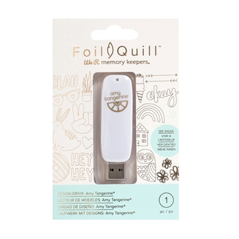 We R Memory Keepers AMY TANGERINE Foil Quill Design Drive USB 660689