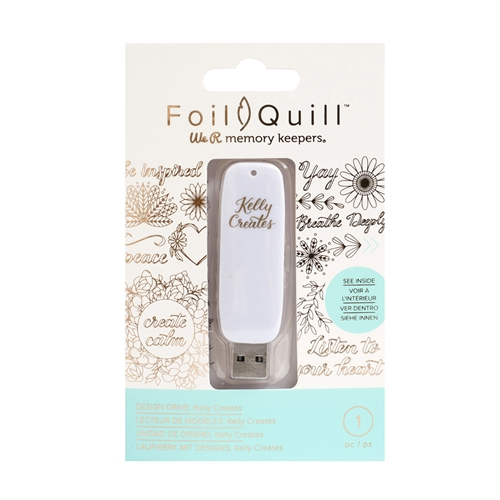We R Memory Keepers KELLY CREATES Foil Quill Design Drive USB 660721 Preview Image