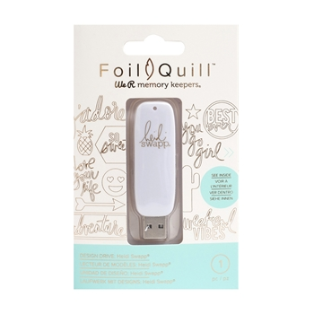We R Memory Keepers HEIDI SWAPP Foil Quill Design Drive USB 660703*