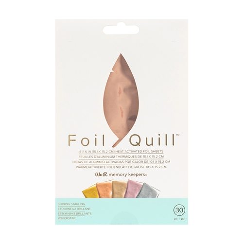 We R Memory Keepers SHINING STARLING Foil Quill Sheets 660670 Preview Image