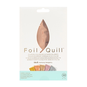 We R Memory Keepers SHINING STARLING Foil Quill Sheets 660670*