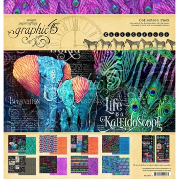 Graphic 45 KALEIDOSCOPE 12 x 12 Collection Pack 4501856
