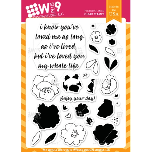 Wplus9 MY WHOLE LIFE Clear Stamps cl-wp9mwl Preview Image