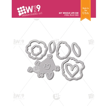 Wplus9 MY WHOLE LIFE Designer Dies wp9d-0225