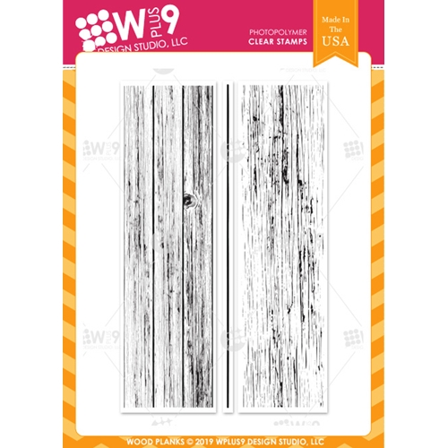Wplus9 WOOD PLANKS Clear Stamps cl-wp9wopl Preview Image