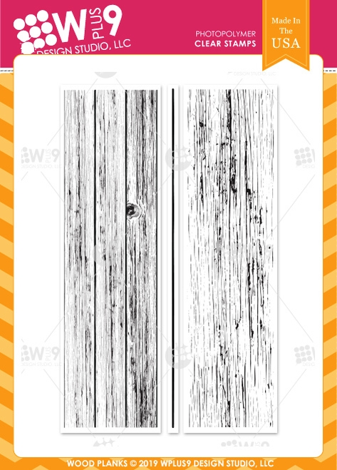 Wplus9 WOOD PLANKS Clear Stamps cl-wp9wopl zoom image