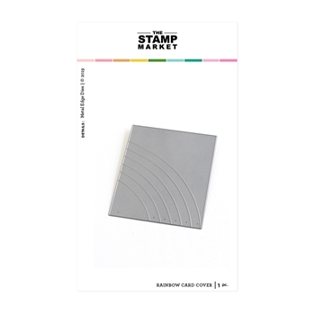 The Stamp Market RAINBOW CARD COVER Die Set tsm2086