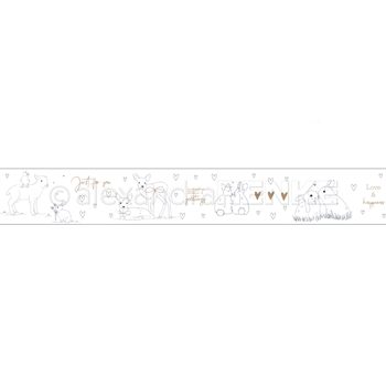 Alexandra Renke ANIMAL GREETINGS Washi Tape wtarti0014