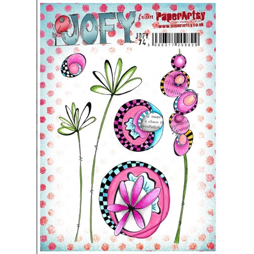 Paper Artsy JOFY 74 Cling Stamp Set jofy74 Preview Image