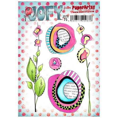Paper Artsy JOFY 75 Cling Stamp Set jofy75 Preview Image