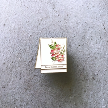 The Gray Muse HANDMADE CARD Enamel Pin tgm-m19-p03