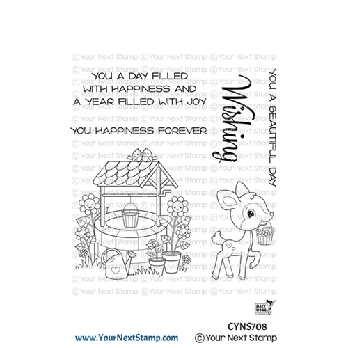 Your Next Stamp JOYFUL WISHING WELL Clear cyns708 Preview Image
