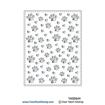 Your Next Die PAW PRINT PANEL ynsd849