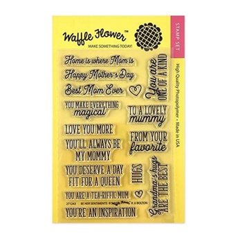 Waffle Flower BE HER SENTIMENTS Clear Stamps 271243
